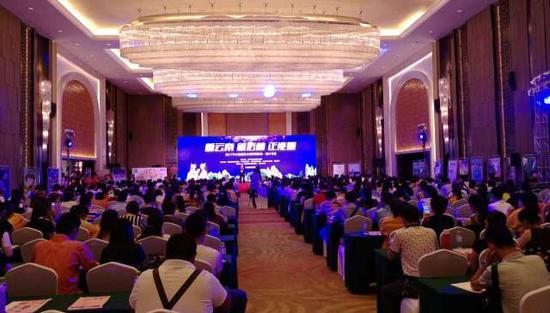 石林风景名胜区海南盛会 2017云南旅游全国营