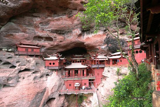中国神奇的悬空寺之一——泰宁甘露寺