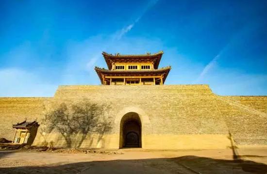 明太原县城城门