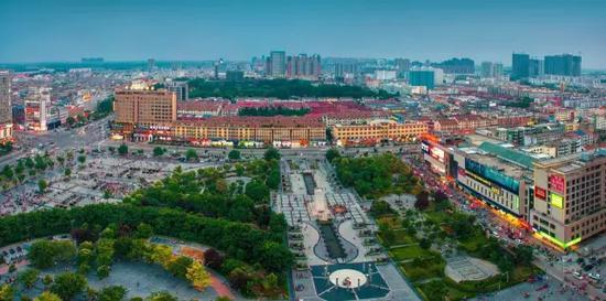 亳洲城市风光 摄影:和平鸽
