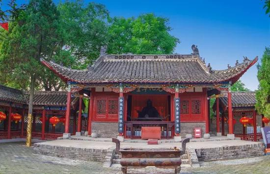 华祖庵——元化草堂 摄影:庐州老余