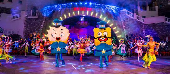 给游客带来加勒比泡泡音乐大趴的全程享受;同时,海盗同学会,周年庆