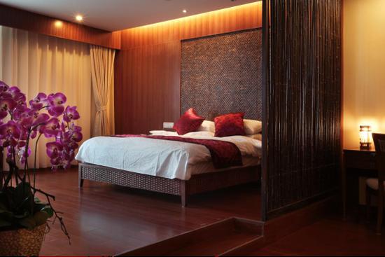 古色古香、典雅舒适的酒店客房