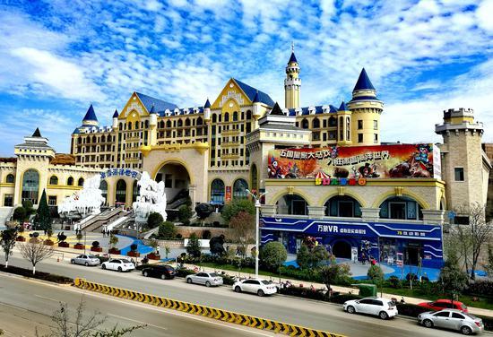 云南首家亲子主题酒店在石林冰雪