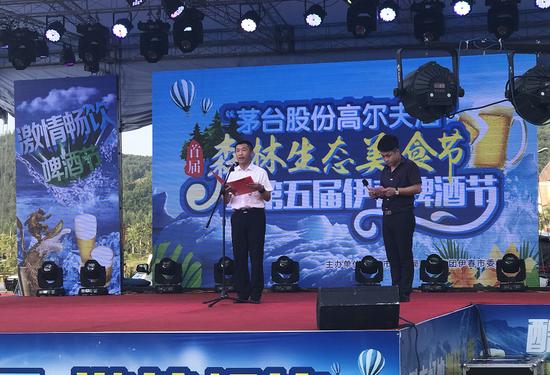 伊春市委常委、宣传部长迟宝旭出席开幕式
