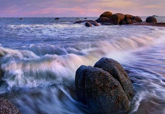 三娘湾的礁石