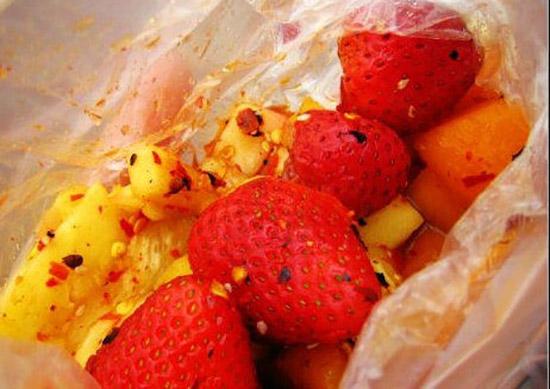 腌草莓 图/云游网