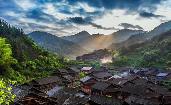 芋头侗寨 摄影:李双喜