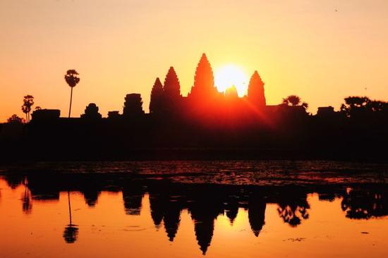 柬埔寨绝美日出