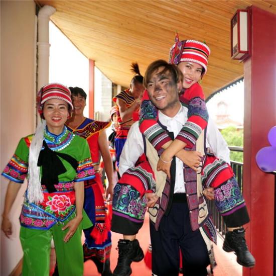 欢乐国庆 石林彝族第一村文化节活动精彩纷呈