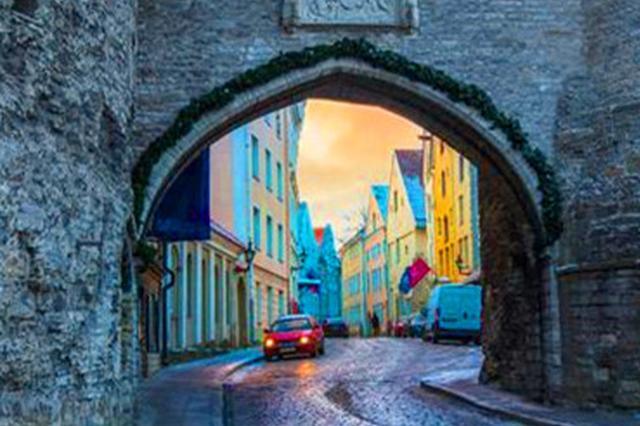 童话世界里的小城