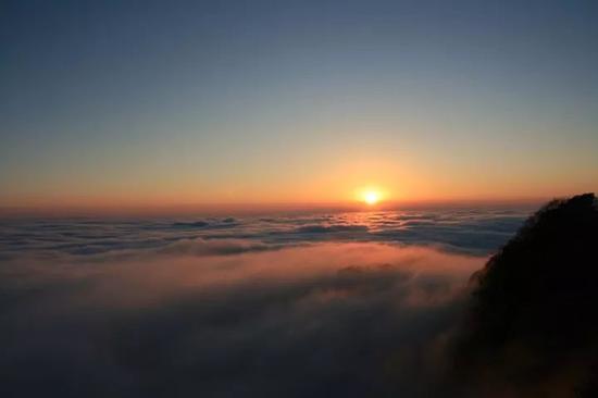 图丨大风堡云海