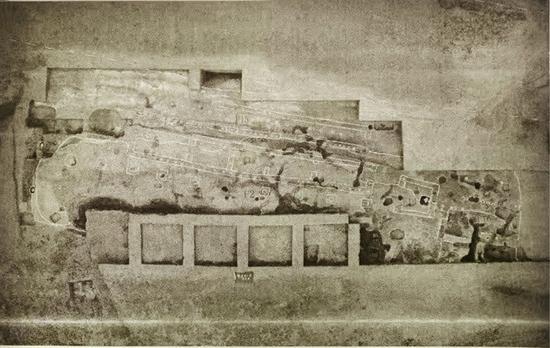 贵族居住区北部宫殿、仓库与铸铜作坊