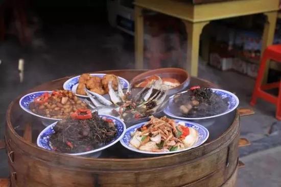 鲜美的河鲜、土菜