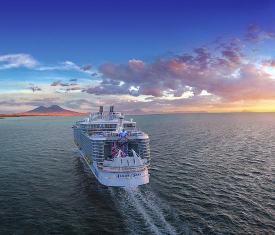 """全新升级的皇家加勒比""""海洋魅力号""""游轮"""