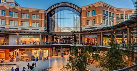 盐湖城城市溪流购物中心(City Creek Centre)