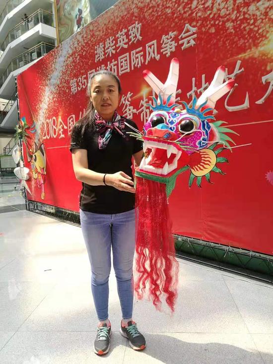 省级非物质文化遗产项目传承人杨红卫