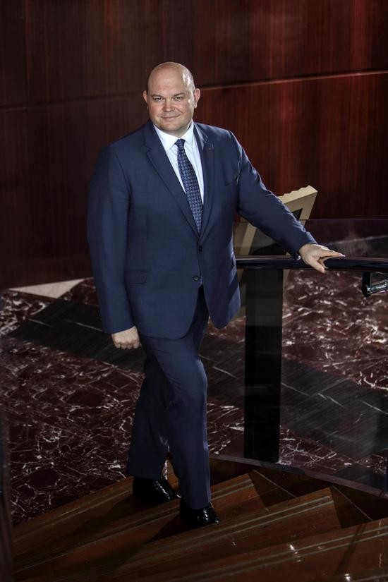 北京国贸大酒店总经理 魏利麟先生
