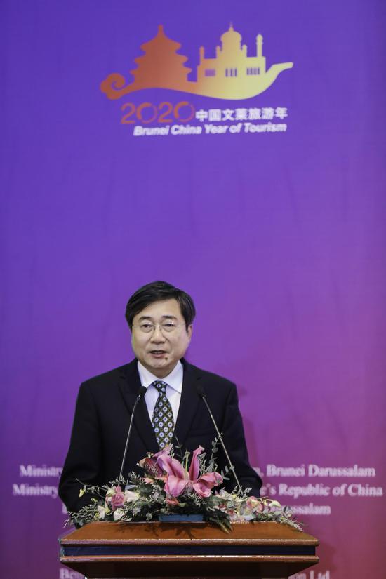 张旭副部长致辞