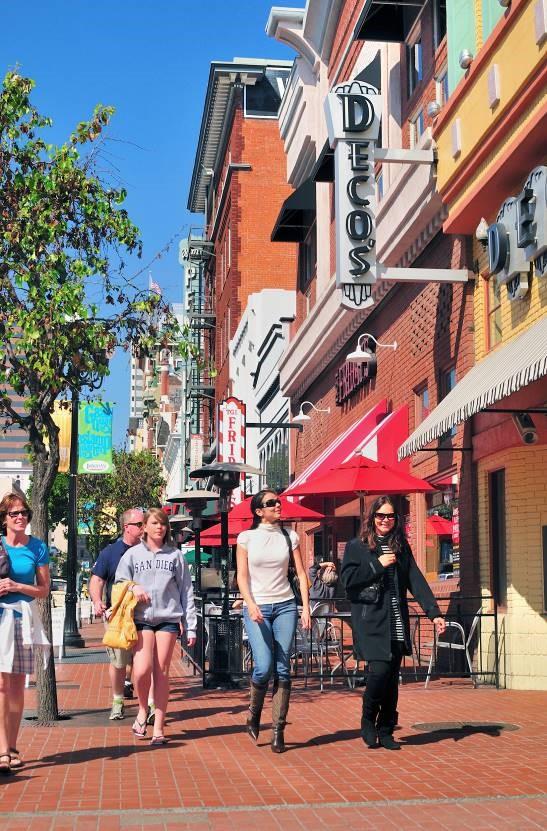 瓦斯灯街区,图片版权:圣地亚哥旅游局