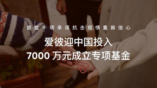 爱彼迎中国投入7000万元成立专项基金 首批十项承诺抗击疫情重振信心