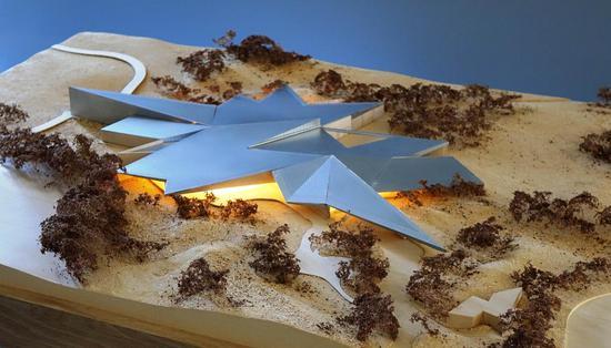 菲利普岛自然公园全新游客中心模型