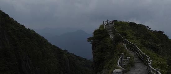 天台山栈道