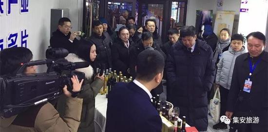 国家旅游局、省、市领导对集安冰酒和火盆赞不绝口