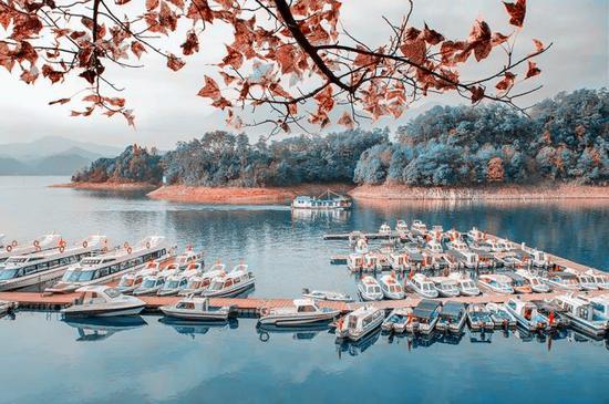 秋韵太平湖 空水澄鲜一色秋