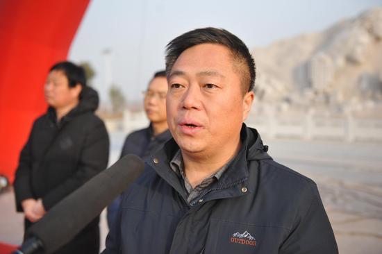 华旅集团党工委副书记、纪委书记车宏伟先生致辞