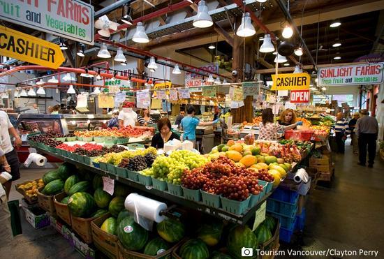 格兰维尔岛市集美食之旅