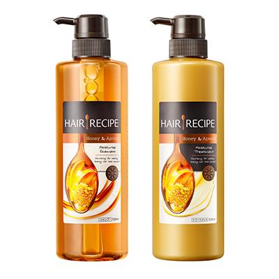 发之食谱/Hair Recipe 蜂蜜富养水润洗发露+润发乳