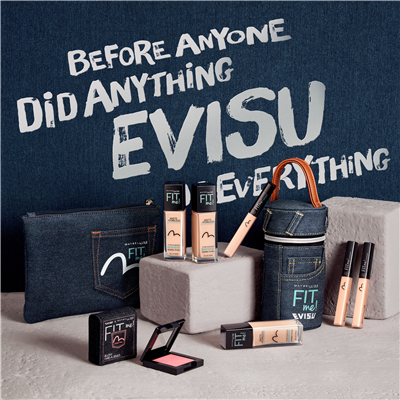 美宝莲/MAYBELLINE FIT me x EVISU定制限量版