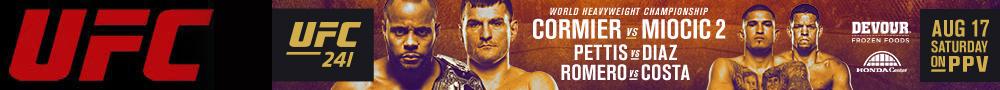 2019年8月18日UFC 241期 – 对阵[视频] CORMIER vs. MIOCIC 2
