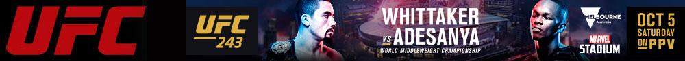 2019年9月29日UFC格斗之夜160期 - 对阵[视频] Hermansson vs. Cannonier