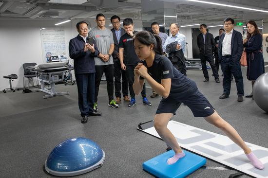 中国柔道和帆船帆板队在进行短期集训