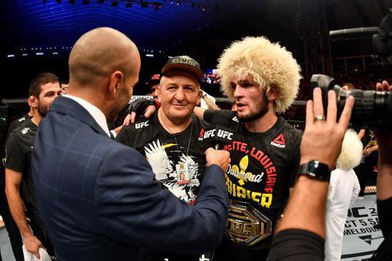 卡比布是唯一保持着全胜战绩的UFC冠军