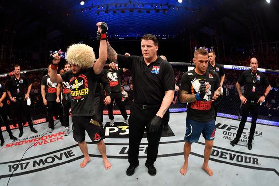 UFC242综述:卡比布裸绞普瓦里尔成功卫冕 28战未尝一败