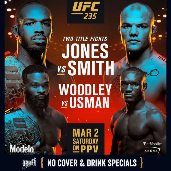 2019年3月3日UFC235拉斯维加斯 - 🏆双料冠军战同晚上演