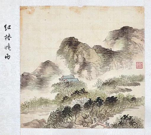 Lot5477之峨眉十景图洪椿晓雨