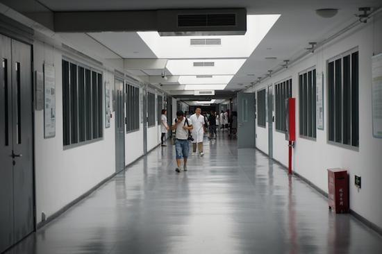 故宫博物院文物医院内