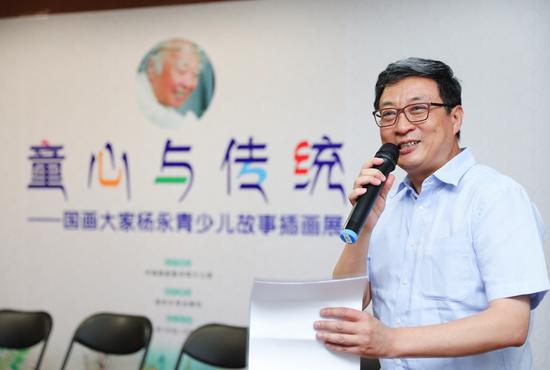 图 清华大学出版社董事长兼书记李勇教授
