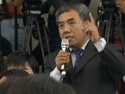 记者激烈提问刘源任职人大问题 傅莹回应