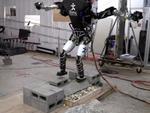 人形机器人能踩梅花桩前进