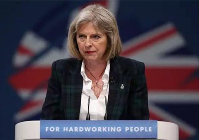 """直播:英国首相特雷莎•梅宣布""""脱欧""""方案"""