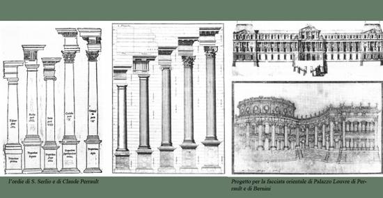 卢浮宫三段式东立面图片