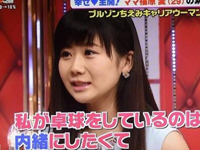 Fukuhara Ai to hide she is paddler from daughter