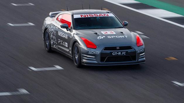 遥控跑车成现实 这台日产GT-R有点儿酷
