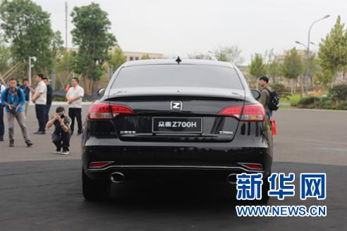 售10.58-16.58万元 众泰Z700H正式上市