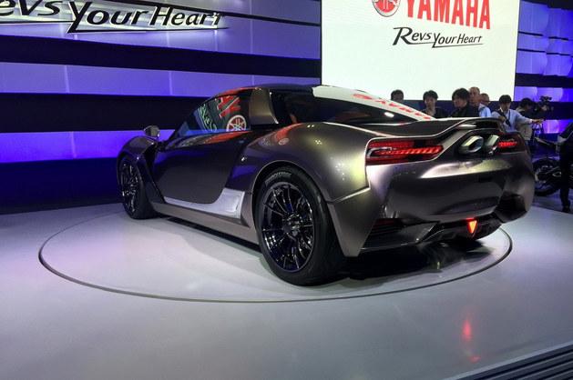 雅马哈推出新款概念跑车 东京车展亮相